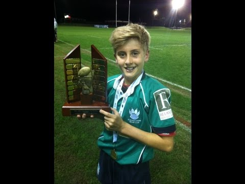 Flinders Rugby U12's Grand Final Win Sunshine Coast QLD 2013