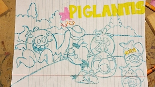 Angry birds seasons : piglantis