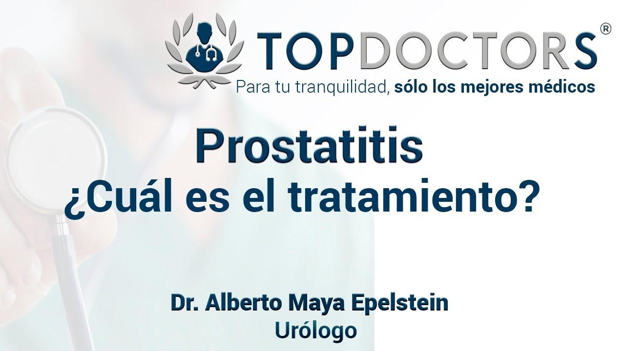 prostatitis con antibióticos