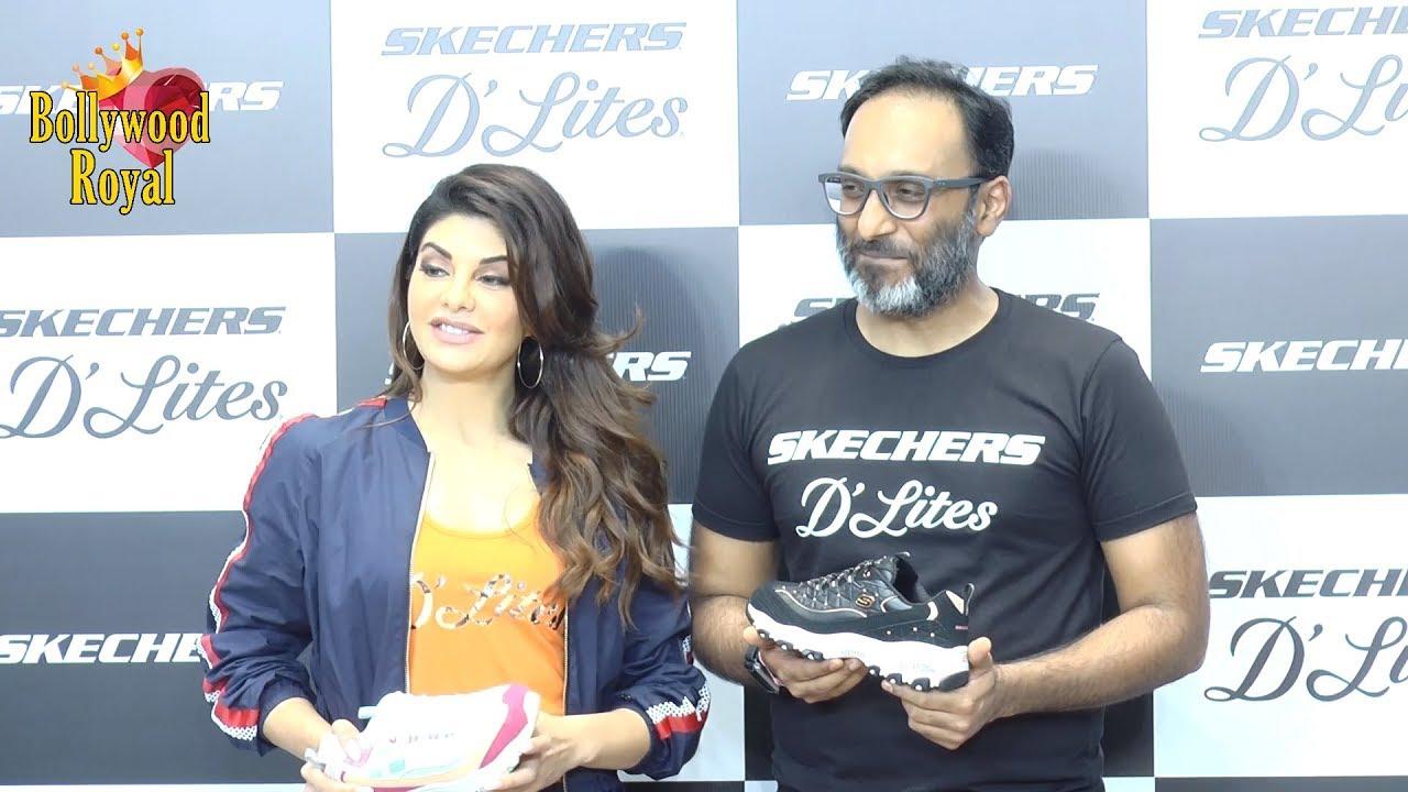 ea6c6fe3c5 Jacqueline Fernandez Launches The New D'Lites Skechers Shoes Collection  Part- 2