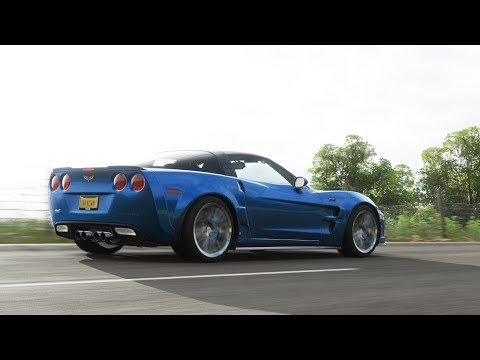 Forza Horizon 4 Chevrolet Corvette C6 Zr1 Fh4 Youtube