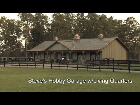 Steve's Hobby Garage w/Living Quarters