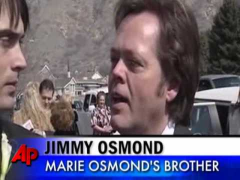 Funeral Service Held for Marie Osmond's Son