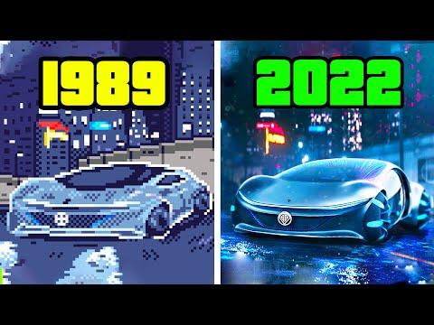 Evolution Of Grand Theft Auto | 1989-2020