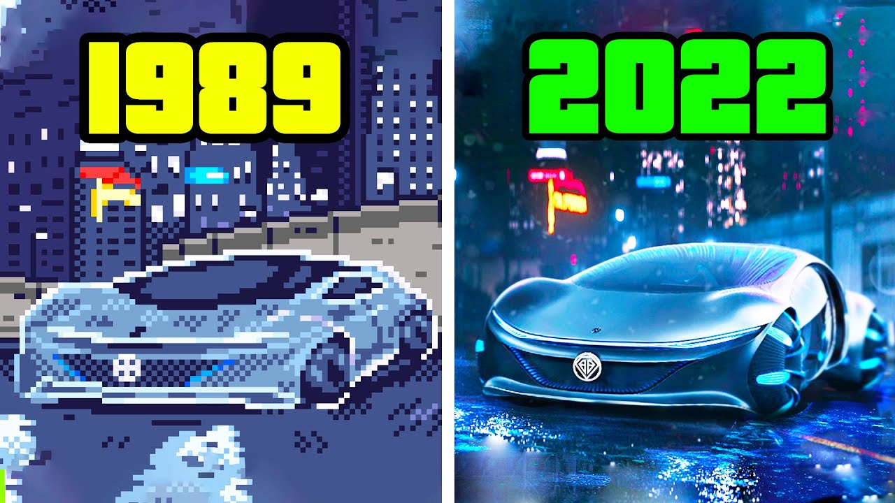 Evolution Of Grand Theft Auto | 1989-2021
