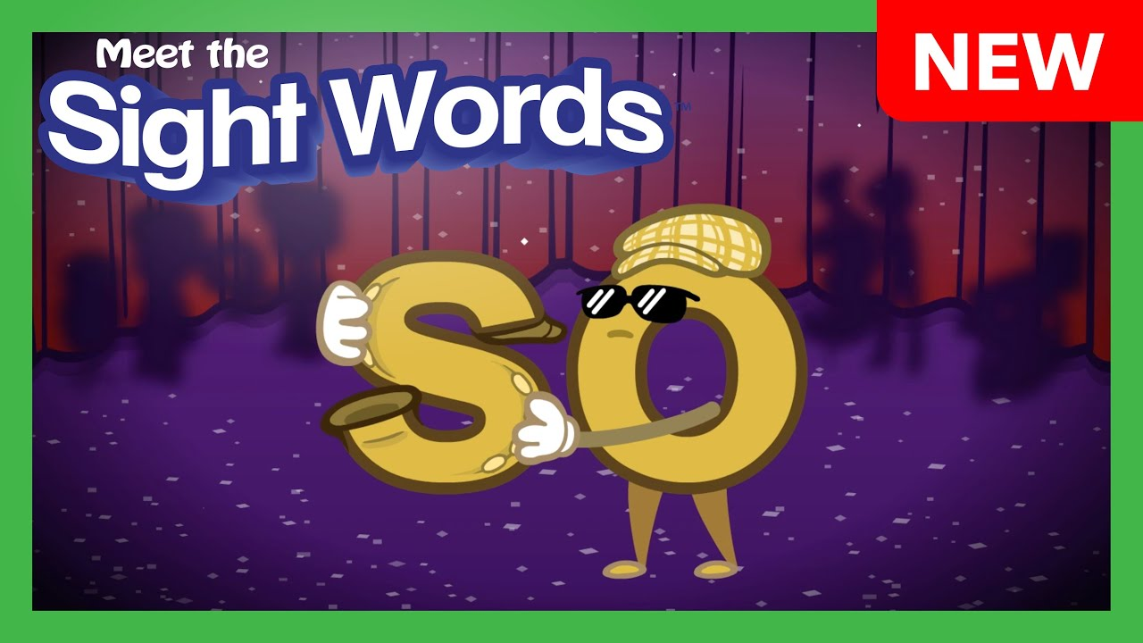 "NEW! Meet the Sight Words - ""so"""
