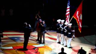 Jim Cornelison National Anthem Game 1- Bulls Vs. Hawks