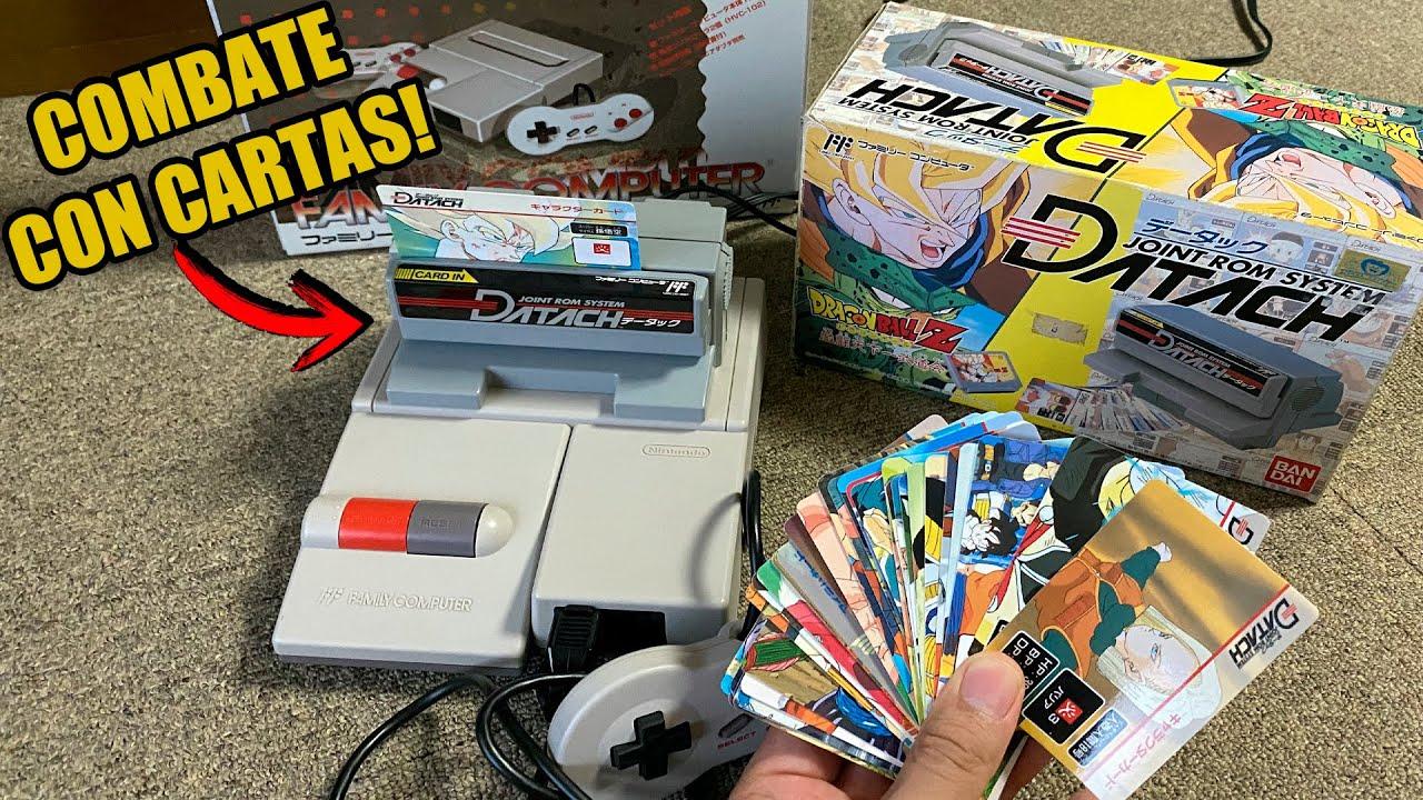 ACCESORIO PARA JUGAR CON CARTAS EN UNA NINTENDO NES? Dragon Ball Z | DATACH periféricos raros| Japón