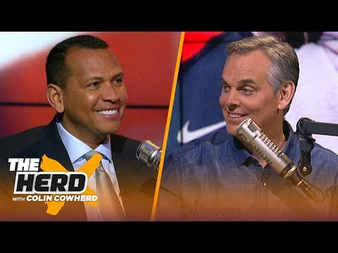 Alex Rodriguez talks historical Manny Machado deal, Bryce Harper decision & Yankees | MLB | THE HERD