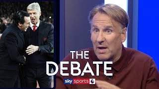 Have Arsenal improved since Unai Emery took over from Arsene Wenger? | Merson & Kewell | The Debate