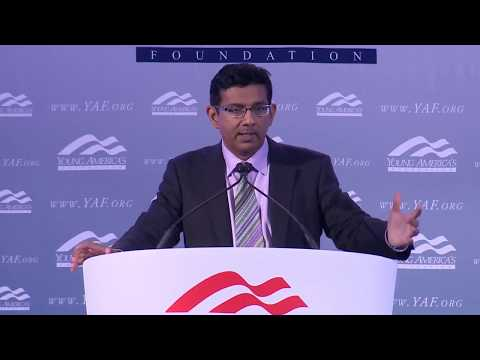 Dinesh D'Souza LIVE from GWU at YAF's 39th NCSC