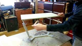 Matthew Bridges Design - Height Adjustable Table - Full Working Prototype