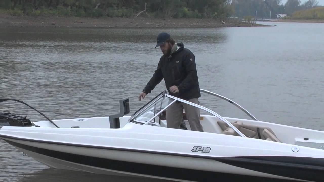Triton fish and ski sf 18 w yamaha 150 youtube for Triton fish and ski