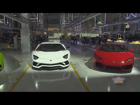Lamborghini Urus World Premiere - The first Super Sport Utility Vehicle