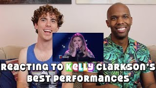 Baixar Reacting to Kelly Clarkson's Best Performances