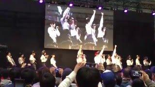20150510 ビッグパレット福島 AKB48 Team8 スペシャルステージ 2部 出演メンバー 舞木 香純(かすみん)、早坂 つむぎ(つっちゃん)、清水 麻璃亜(ぐんまり)、高橋 彩音( ...