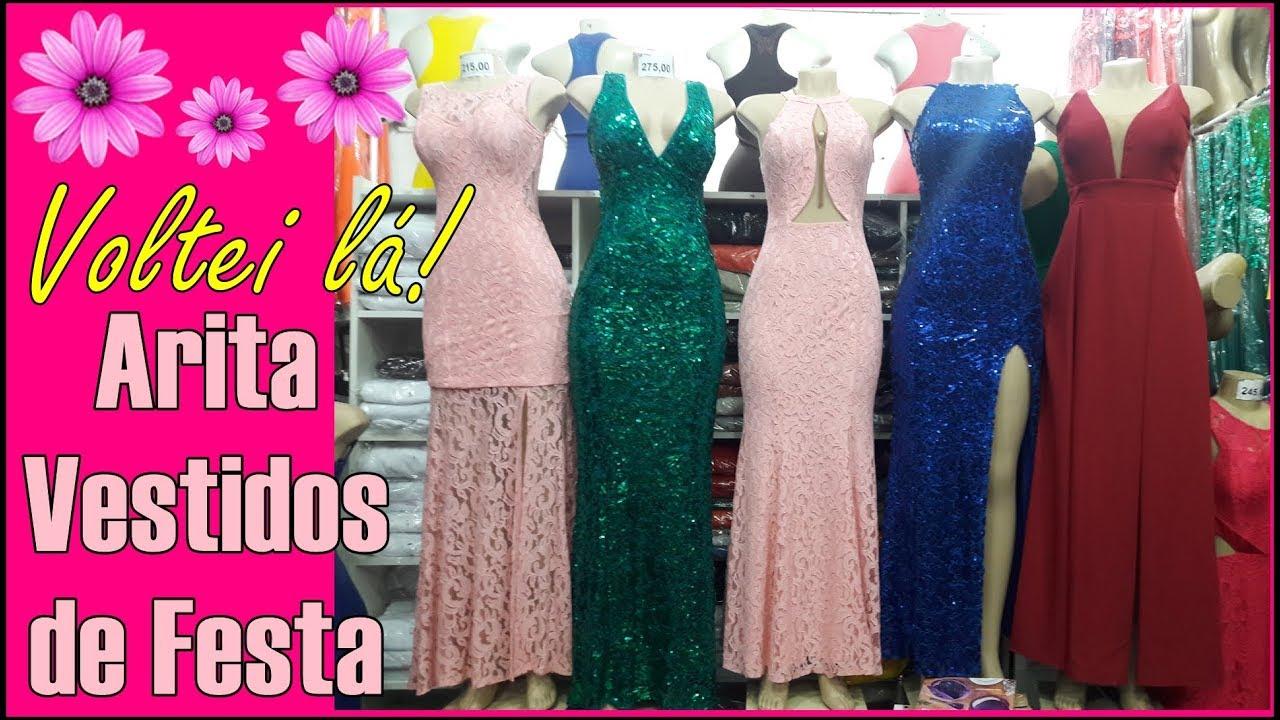 bf7b957e5 Vestidos de Festa Longos lá no Brás 👗 Ótimos Preços - YouTube
