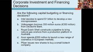Business Finance Ch.1
