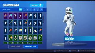Skin Marshmello Dance Rollo Funky - FORTNITE