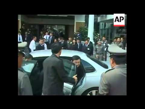 Deposed Thai Prime Minister Thaksin Shinawatra is back in Thailand after 17 months in exile to face