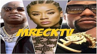 Keyshia Cole Reacts To Being Kicked Off Stage. (Birdman & Mayweather Side Chick?)