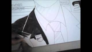 Drawing Arsene Wenger