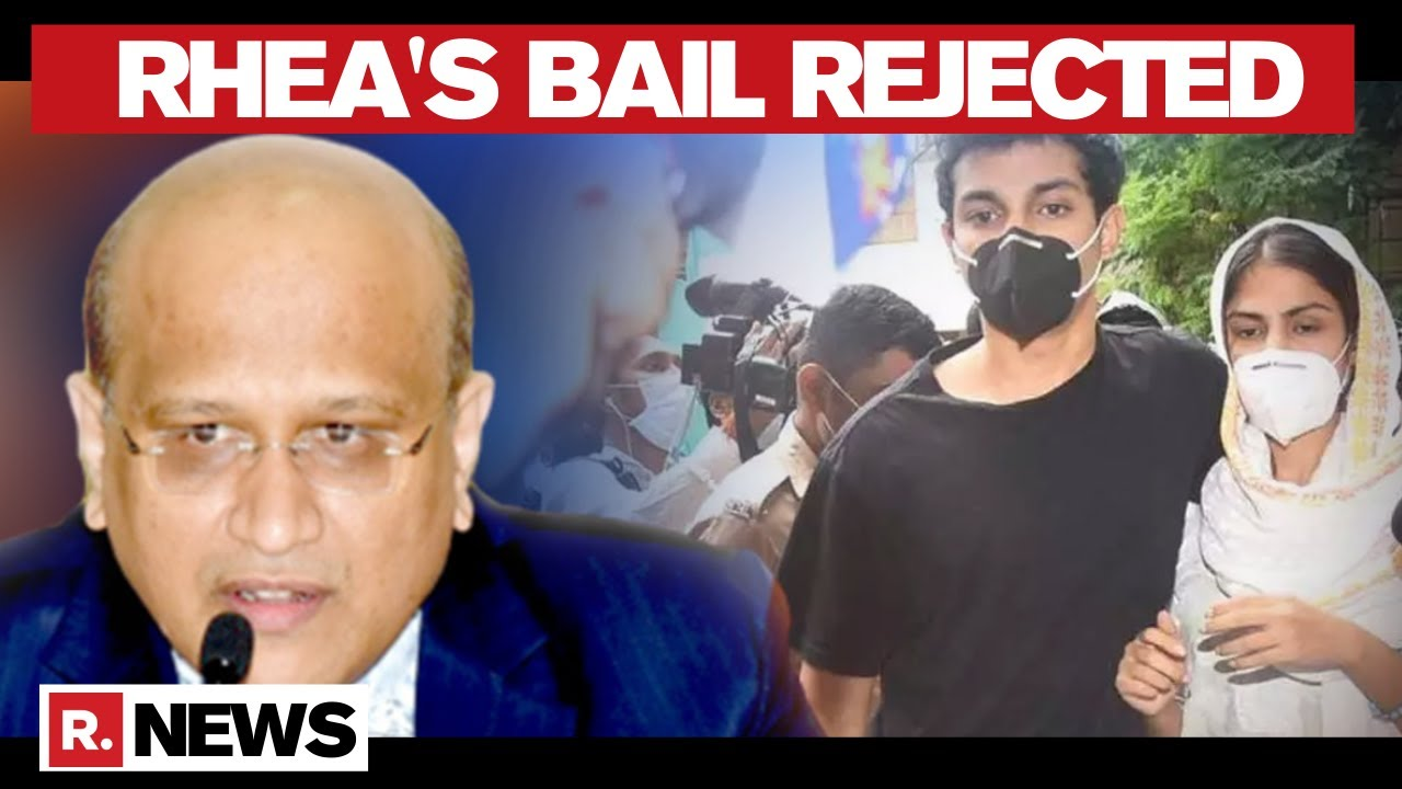 Senior Lawyer Swapnil Khothari Speaks to Republic TV After Court Rejects  Rhea's Bail Plea - YouTube