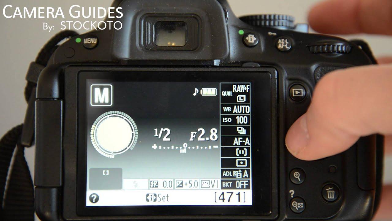 how to set auto focus af modes on a nikon d5100 d5200 d5300 youtube rh youtube com Photography Manual Focus Webcam Manual Focus