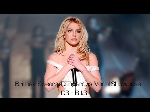 """Britney Spears : Vocal Showcase Of Low Octave Unisions In """"Dangerous"""" (D3 - B♭3)"""
