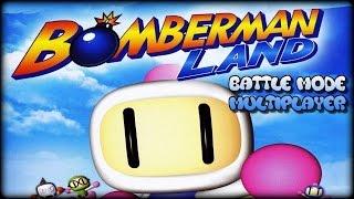 Bomberman Land (Wii) - Multiplayer Gameplay (Battle Mode 4-players) #1