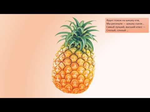 Загадки про фрукты  4+