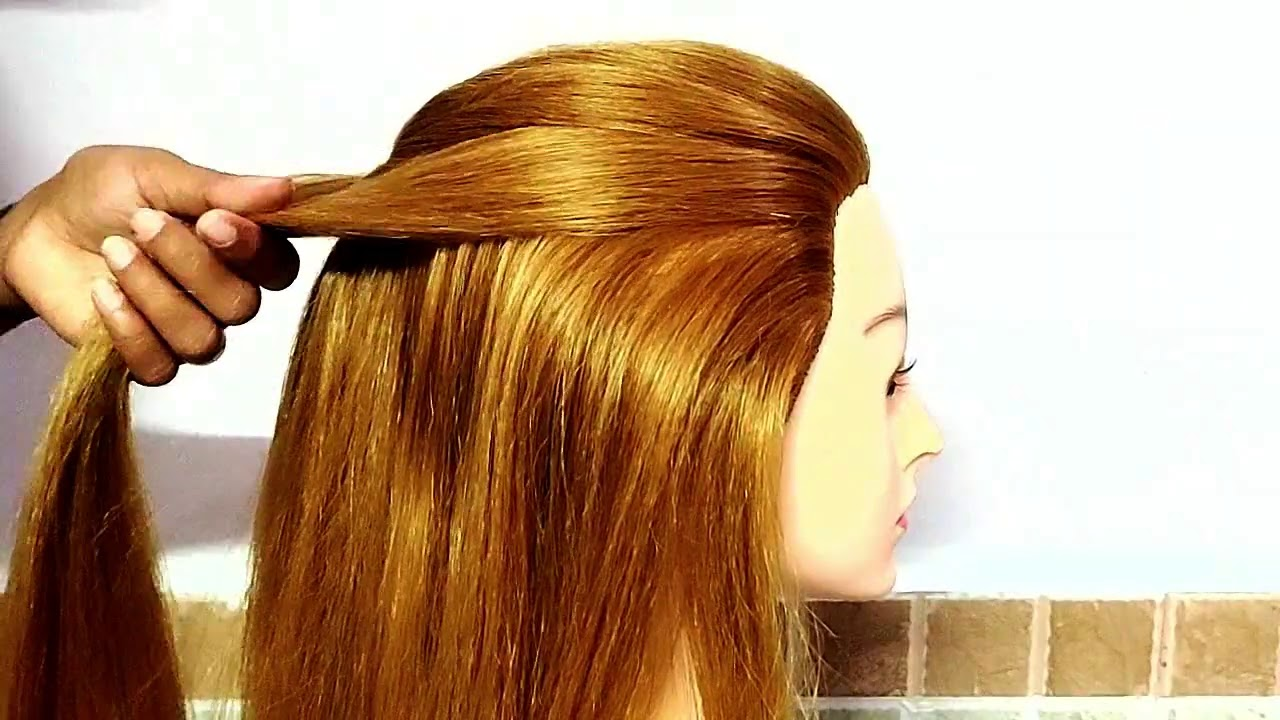 Easy & Simple Everyday girls hairstyle|| BEAUTIFUL !! Out going/party\collage\work\office hairstyles