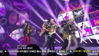 Video BIGBANG [FANTASTIC BABY] @SBS Inkigayo 인기가요 20120415 download MP3, 3GP, MP4, WEBM, AVI, FLV Agustus 2018