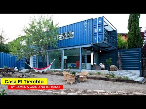 Casa El Tiemblo Shipping Container House  James & Mau Arquitectura and Infiniski in Ávila, Spain