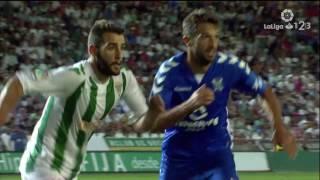 Resumen de Córdoba CF vs CD Tenerife (1-0)