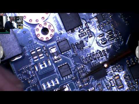 Hp 15-r101na, dead board, shorted screen ribbon cable, wifi and hinge issue  - Part 2