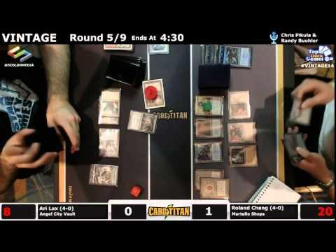 Vintage Champs Round 5 Ari Lax (Angel City Vault) vs Roland Chang (Martello Shops)