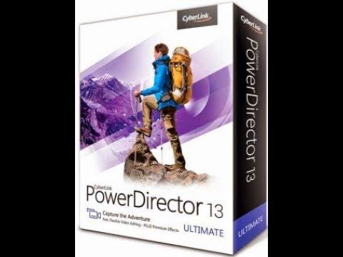 cyberlink powerdirector 13 ultimate crack only