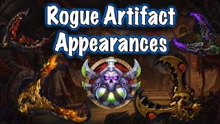 Legion Beta - Artifact Weapon Appearances: Rogue (Jessiehealz)