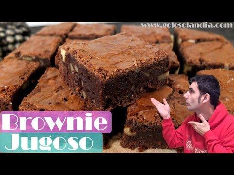 Brownie jugoso y perfecto