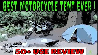 Big Agnes Copper Spur HV UL2 Bikepack tent(the best motorcycle camping tent ever!) 50 use review