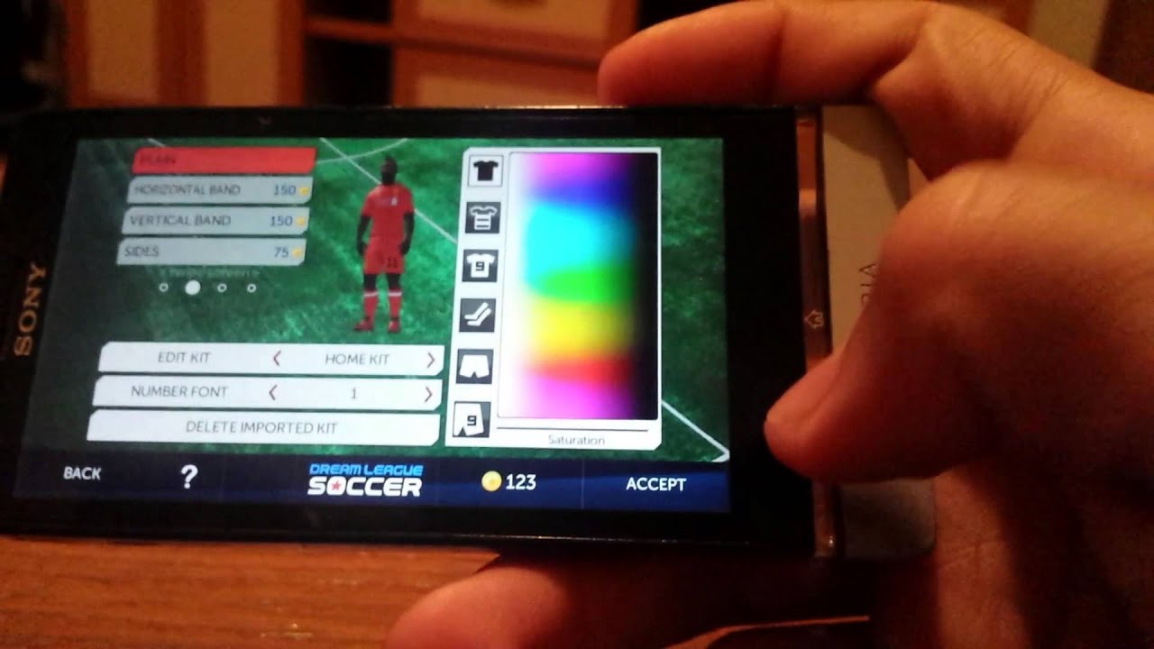 How to import Liverpool Kits and Logo in Dream League Soccer Android  Tutorial