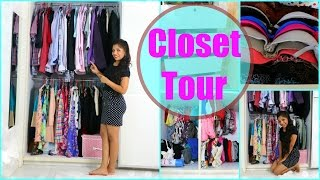 Closet Tour 2015 Organisation & Storage Tips