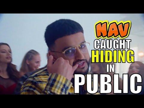 NAV CAUGHT HIDING IN PUBLIC
