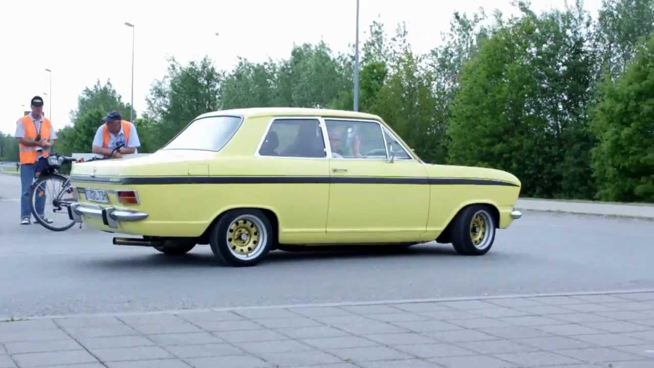 Opel B Kadett verlässt die Klassikwelt  YouTube