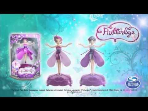 Flying fairy flutterbye flower doll youtube flying fairy flutterbye flower doll mightylinksfo