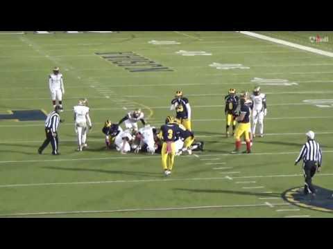Rowen Mayes Senior Football Highlights 2016 season