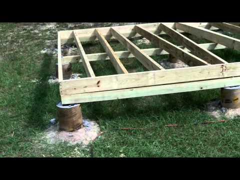 DIY Shed – Part 2: Floor