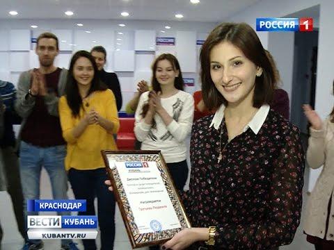 Будущий режиссер стала народным корреспондентом