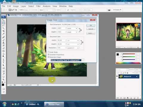 Cách Làm Nét Ảnh Trong Photoshop CS3